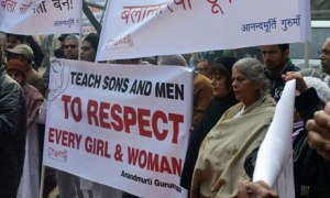 Delhi protest for gang-rape victim